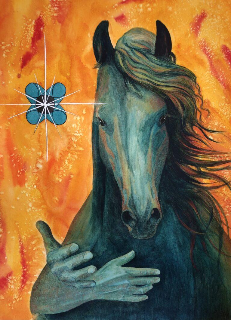 Kr8dierportret Liesbeth Paard